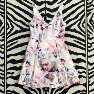 Forever New Floral Water Color Dress